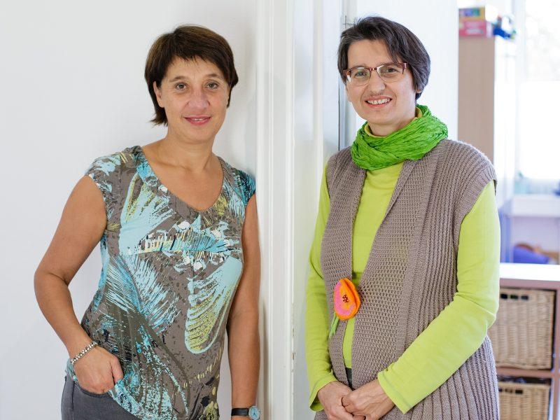 Team: Birgitt Grau und Andrea Michel